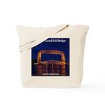 Duluth Aerial Lift Bridge Tote Bag