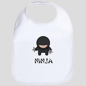 Ninja Throwing Star Bib