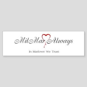 MilMar Sticker (Bumper)