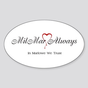 MilMar Sticker (Oval)