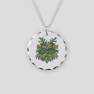Environmentalist Necklace Circle Charm