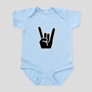 Rock Finger Symbol Infant Bodysuit