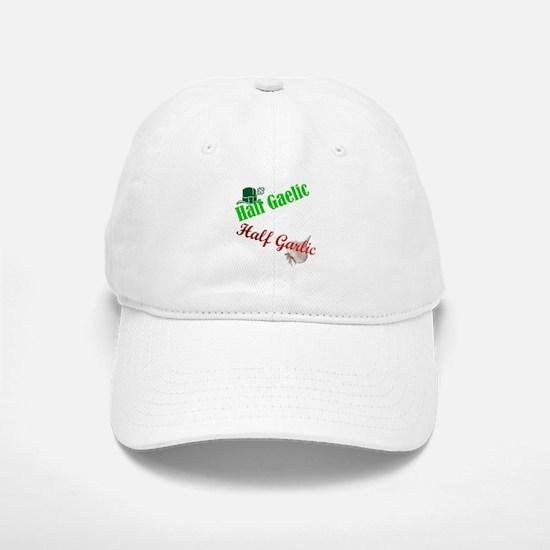 Half Gaelic Half Garlic Baseball Baseball Cap