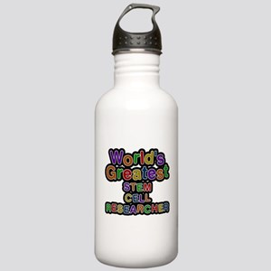 Worlds Greatest STEM CELL RESEARCHER Water Bottle