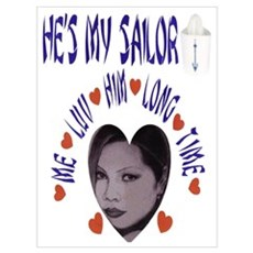 SHE'S/HE'S MY SAILOR, ME LUV Poster