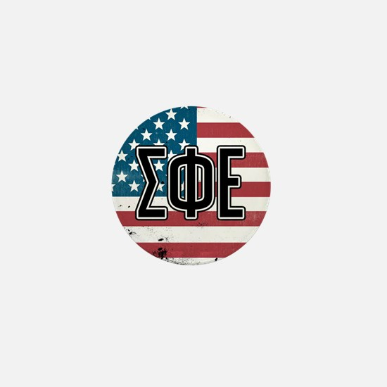 Sigma Phi Epsilon Flag Mini Button