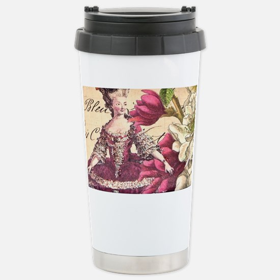VINTAGE LADY Stainless Steel Travel Mug