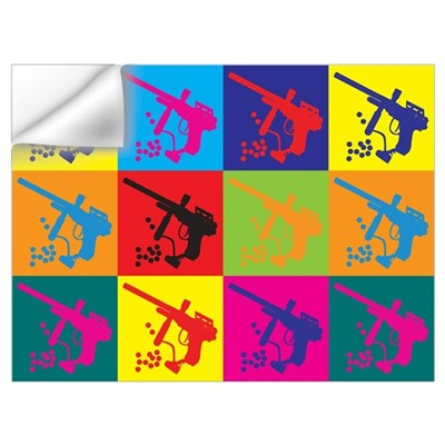 Paintball Pop Art Wall Decal