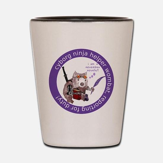 Cute Wombat Shot Glass