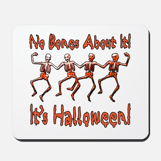 Dancing Halloween Skeletons Mousepad