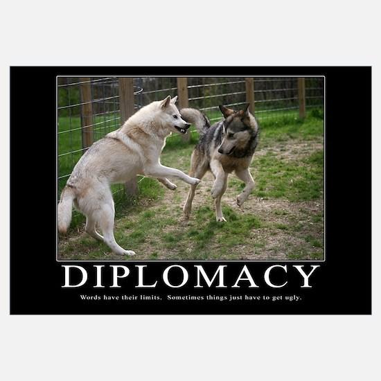 Diplomacy Demotivational (Large)