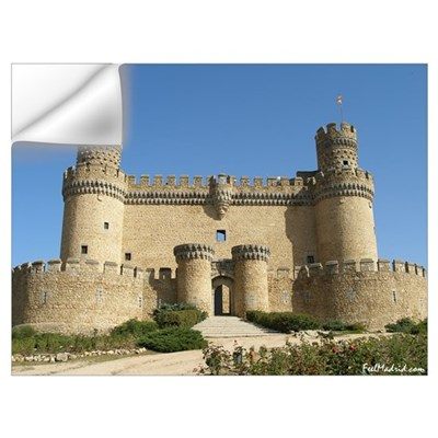 Manzanares Castle Wall Decal