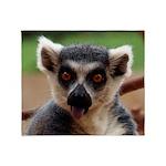 Lemur Throw Blanket