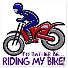 ...Riding My Bike... Poster