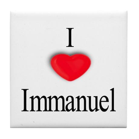 Immanuel Tile Coaster