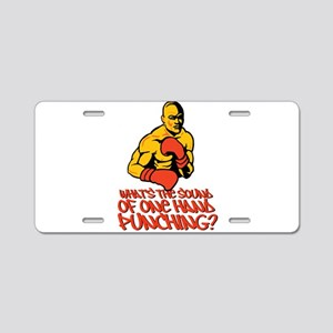 One Hand Punching Aluminum License Plate