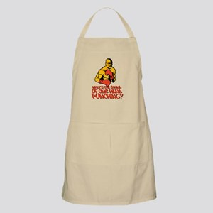 One Hand Punching Apron