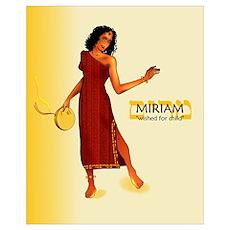 Miriam Name (16x20) Poster