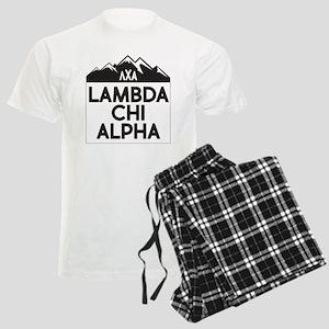 Lambda Chi Alpha Mountains Men's Light Pajamas