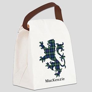 Lion-MacKenzie Canvas Lunch Bag