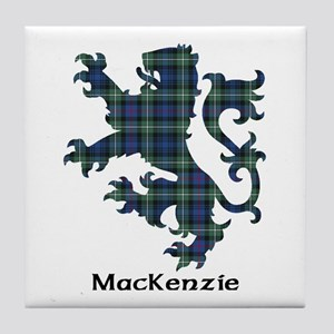Lion-MacKenzie Tile Coaster