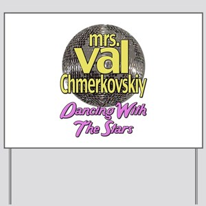 Mrs. Val Chmerkovskiy Dancing With The Stars Yard