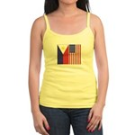 Philippine & US Flags Jr. Spaghetti Tank
