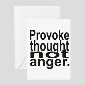 Provoke Thought Greeting Card
