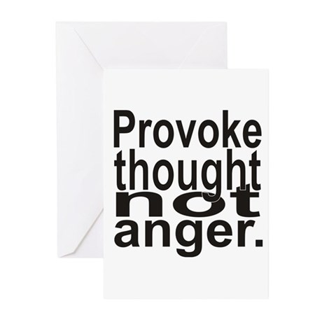 Provoke Thought Greeting Cards (Pk of 10)
