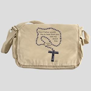 Love Mom 1 Messenger Bag