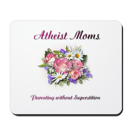 Rose and Daisies Mousepad