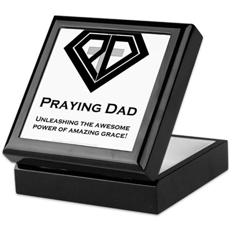 Praying Dad Keepsake Box