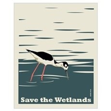 Save the Wetlands Poster