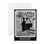 Bonnie & Cyde Halloween Greeting Cards (Pk of