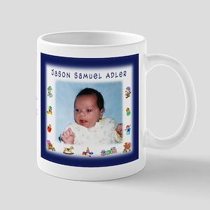 Boy w/Toys Personalized Mug - Custom
