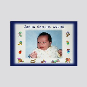 Blue w/Toys Personalized Magnet - Custom