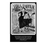 Bonnie & Clyde Halloween Postcards (Package of