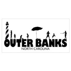 OUTER BANKS - family fun Poster