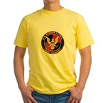 US Border Patrol mx2 Yellow T-Shirt