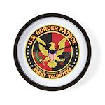 US Border Patrol mx2  Wall Clock