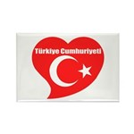 Turkey Rectangle Magnet (100 pack)