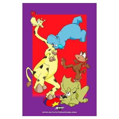 Zoo Ballet! Poster