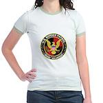 US Border Patrol mx2 Jr. Ringer T-Shirt