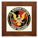 US Border Patrol mx2 Framed Tile