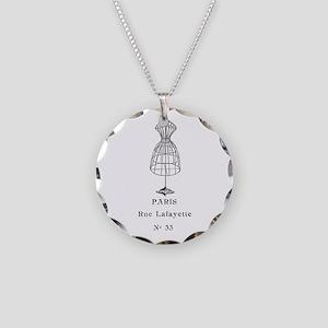 PARIS DRESSFORM Necklace Circle Charm