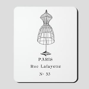 PARIS DRESSFORM Mousepad