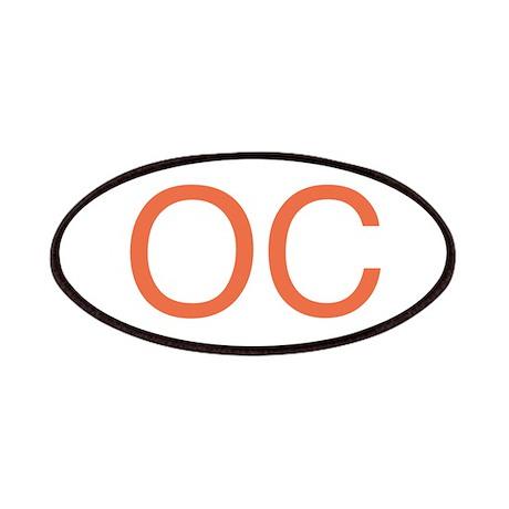 Orange O C Patches