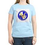 Immigration US Border Patrol Women's Pink T-Shirt