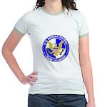 Immigrant US Border Patrol Jr. Ringer T-Shirt