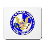 Immigrant US Border Patrol  Mousepad